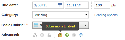 Submissions Enabled