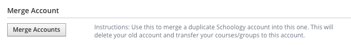 Merge Account