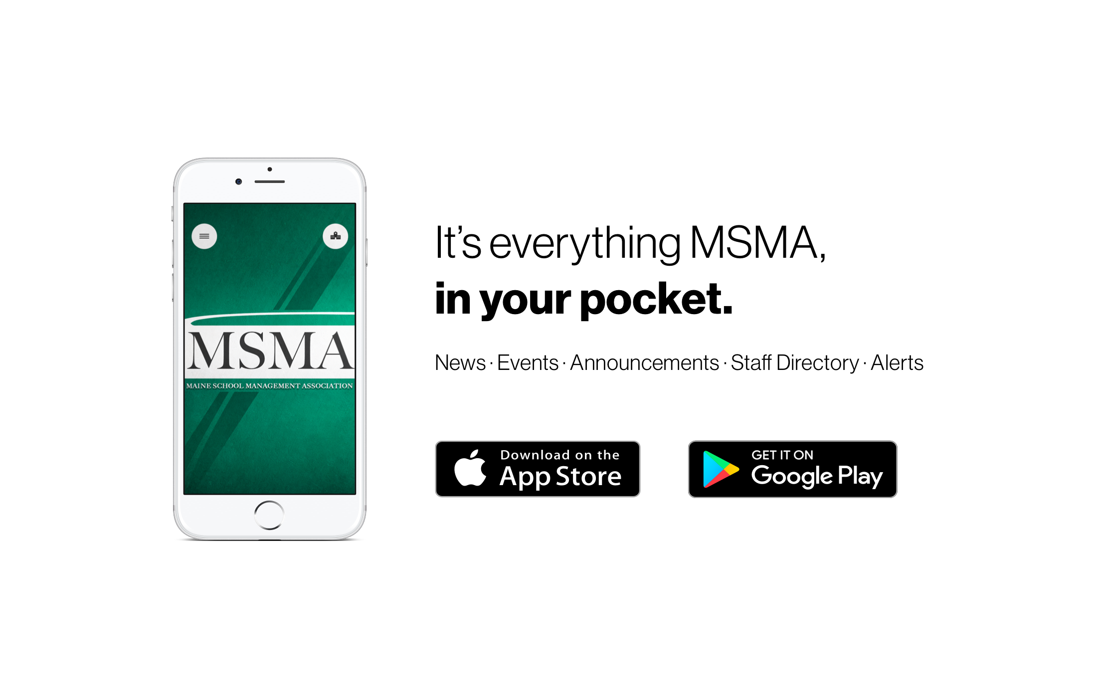 MSMA has gone mobile - download the App today!