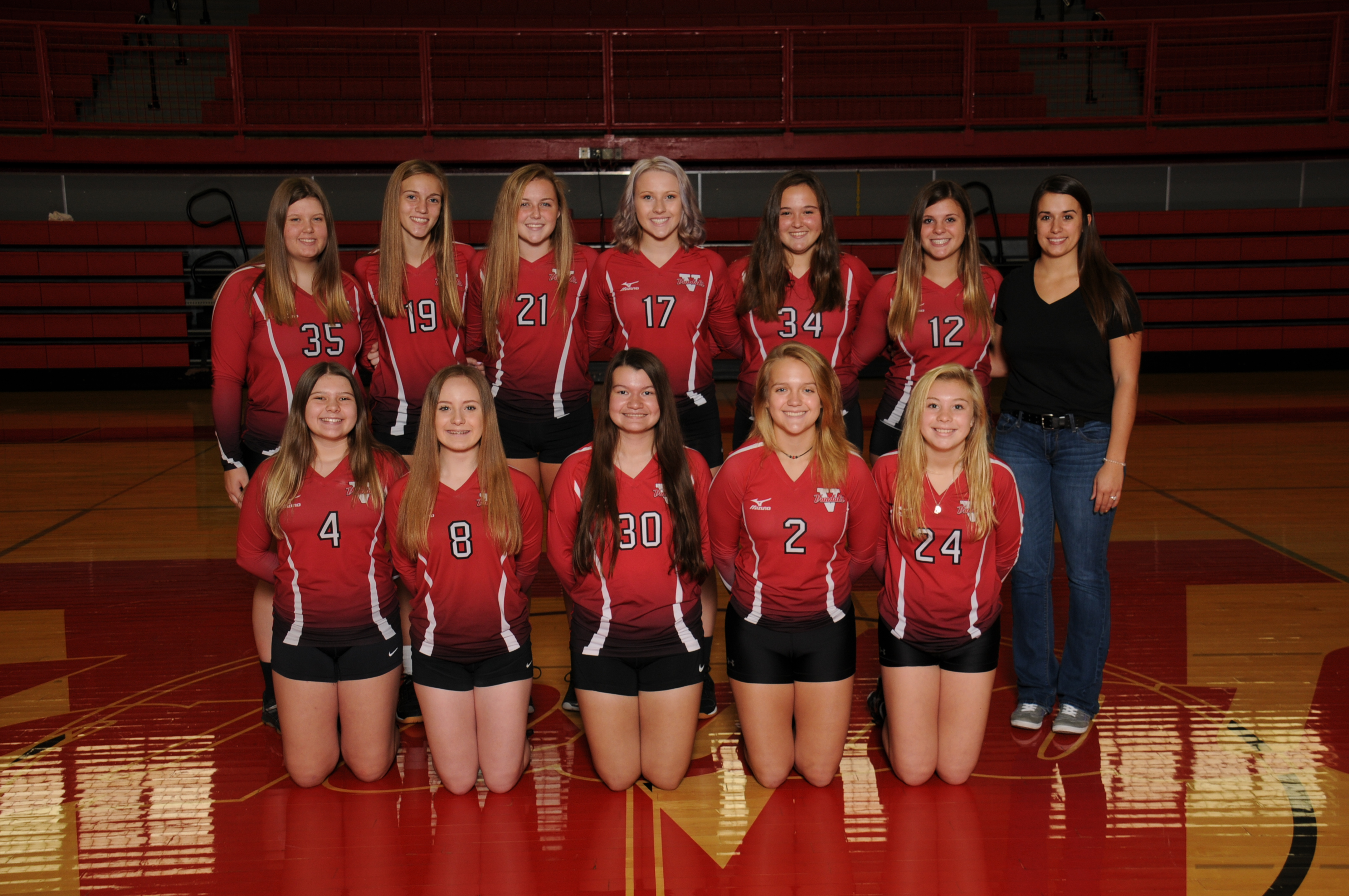 2019 Freshman Volleyball Team