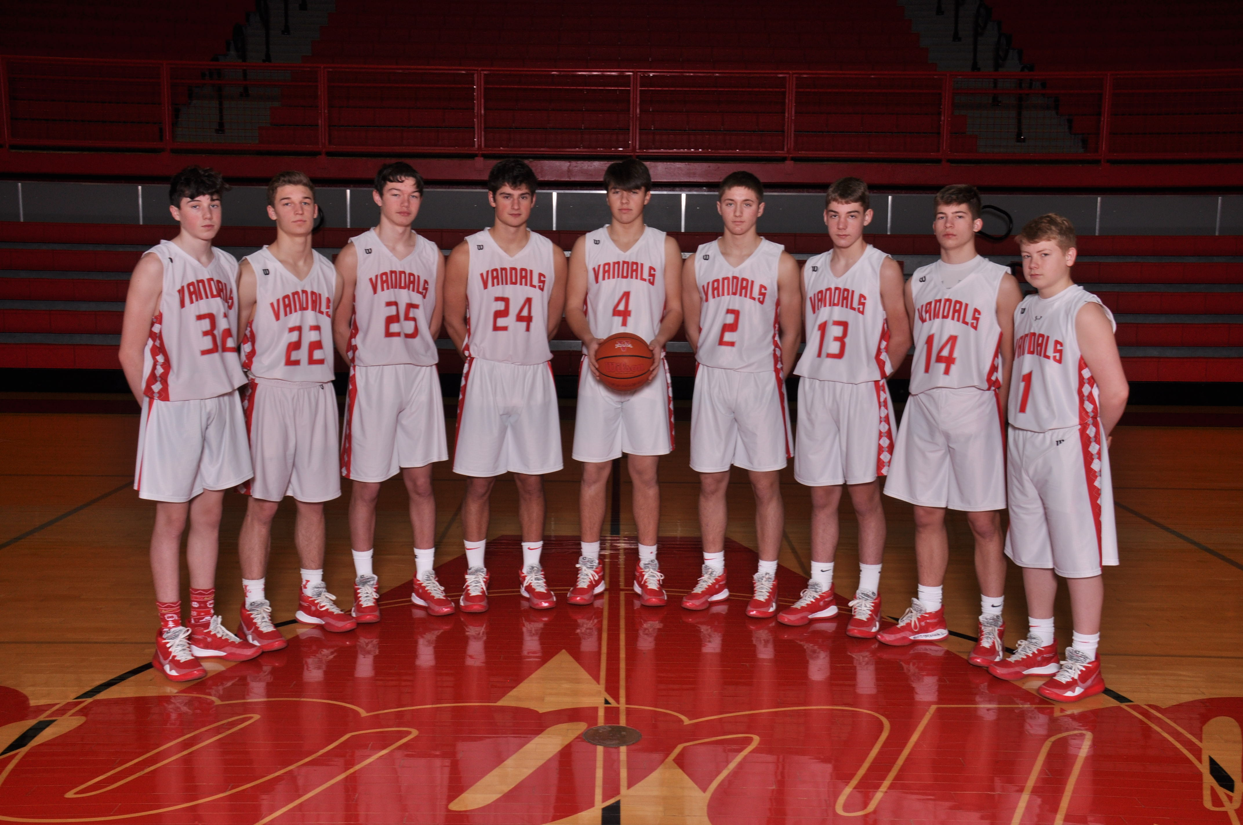 2019/2020 Boys JV Basketball Team