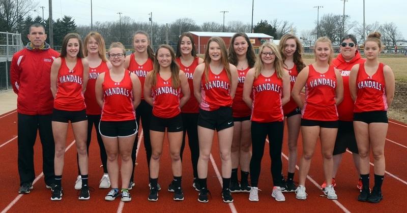 2019 Girls Track Team