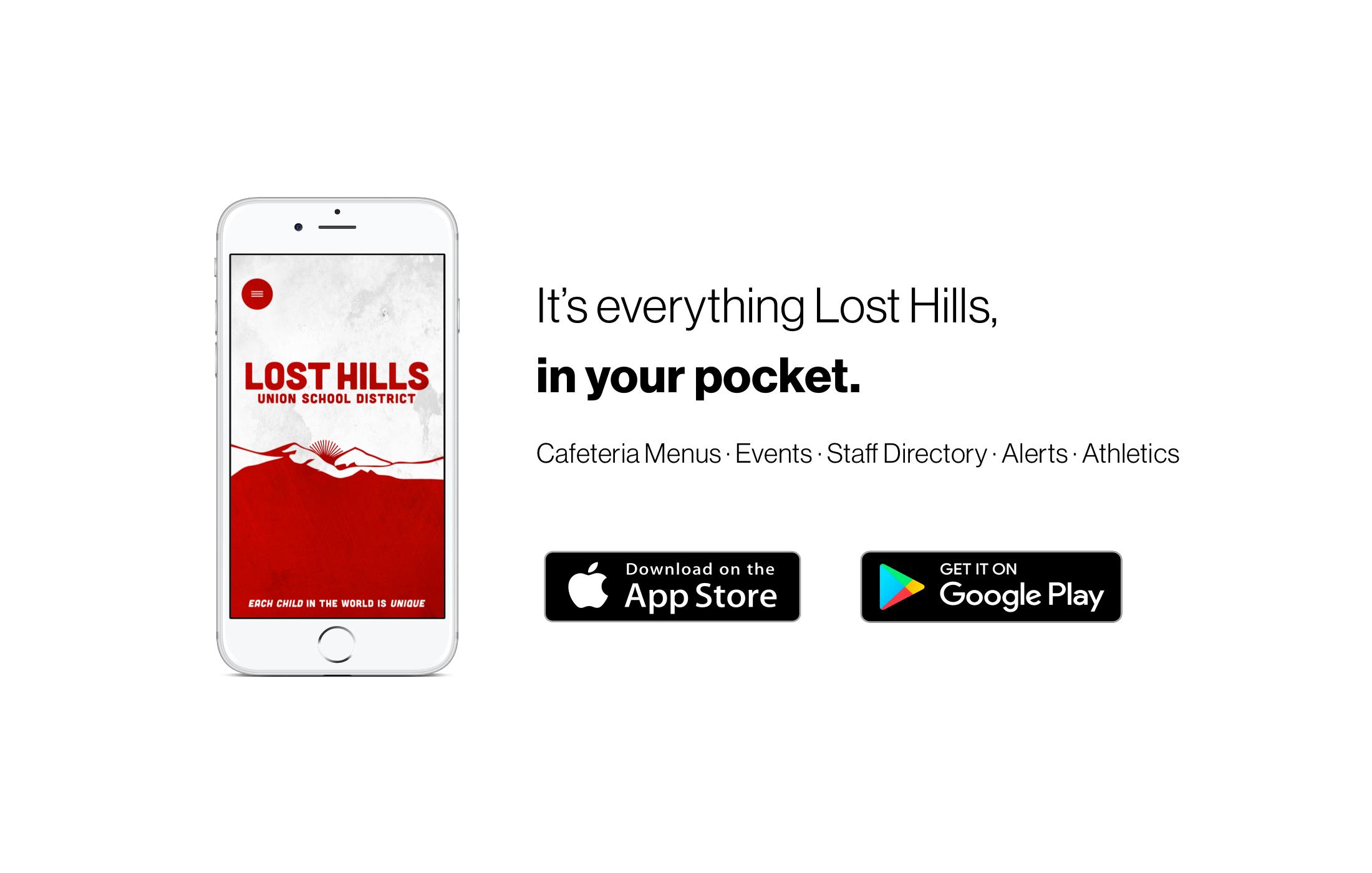 lost hills mobile