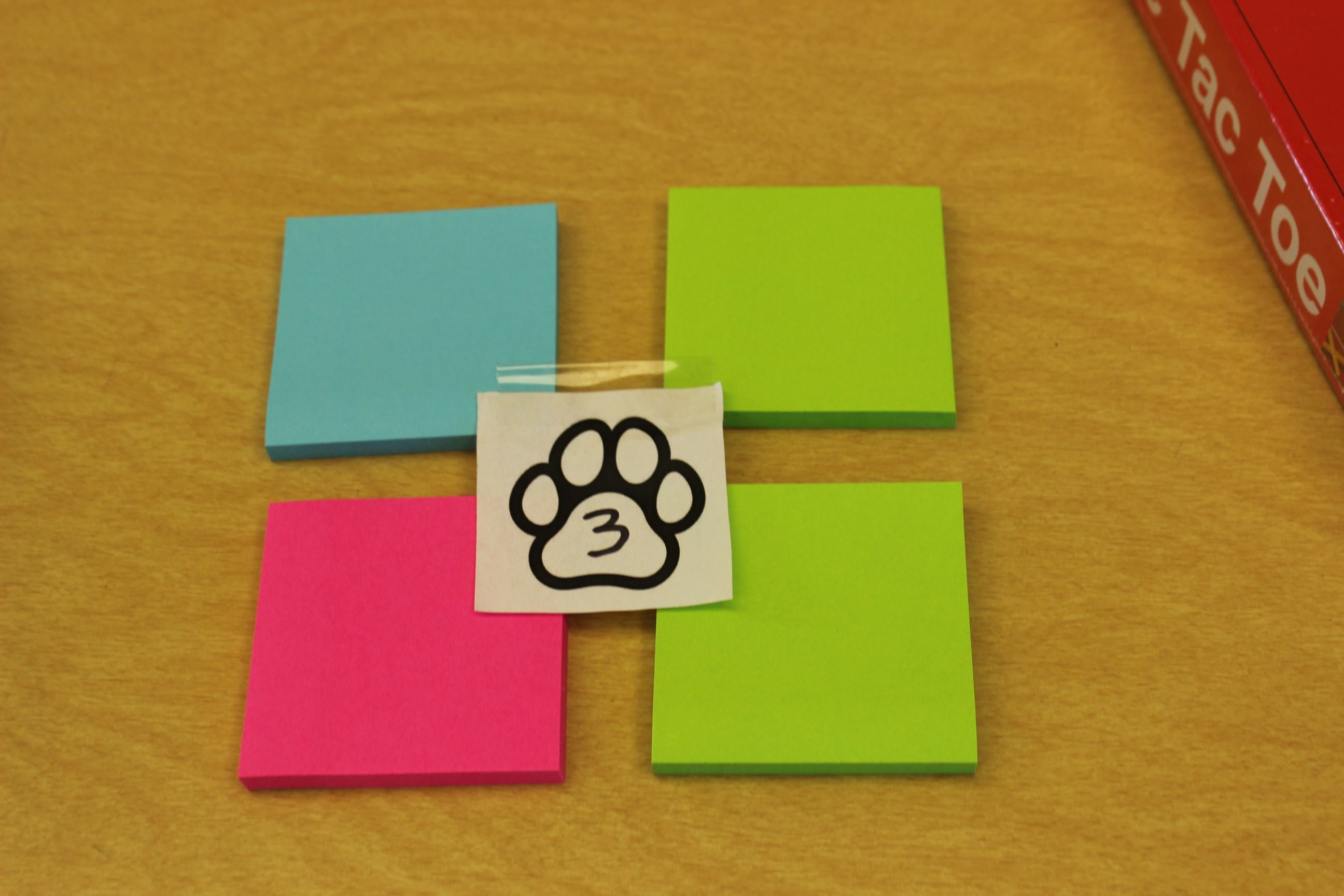 3 Paws Pack of Post its