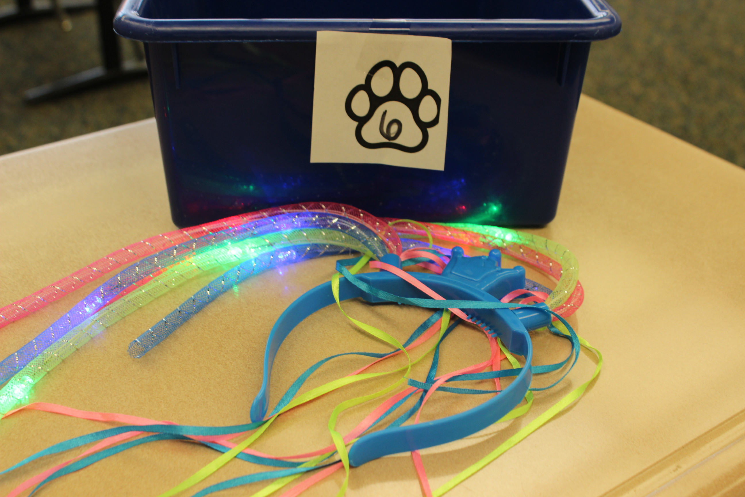 6 Paws Stringy Light Up Headband