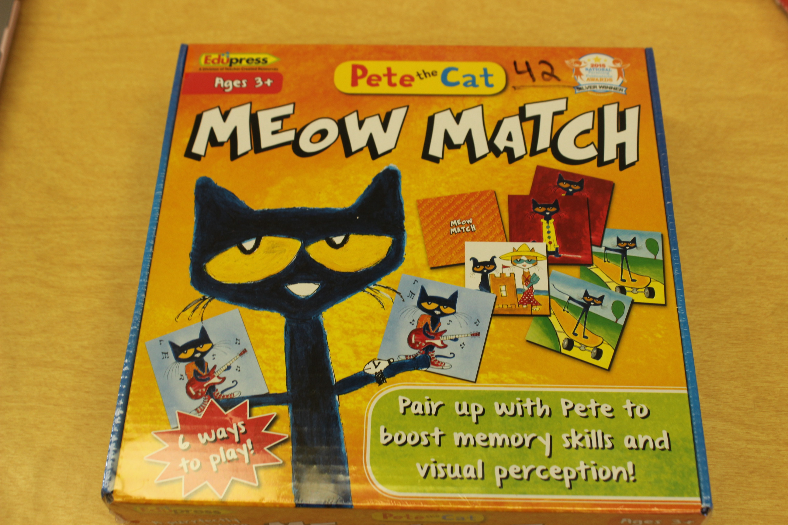 42 Pete the Cat Game