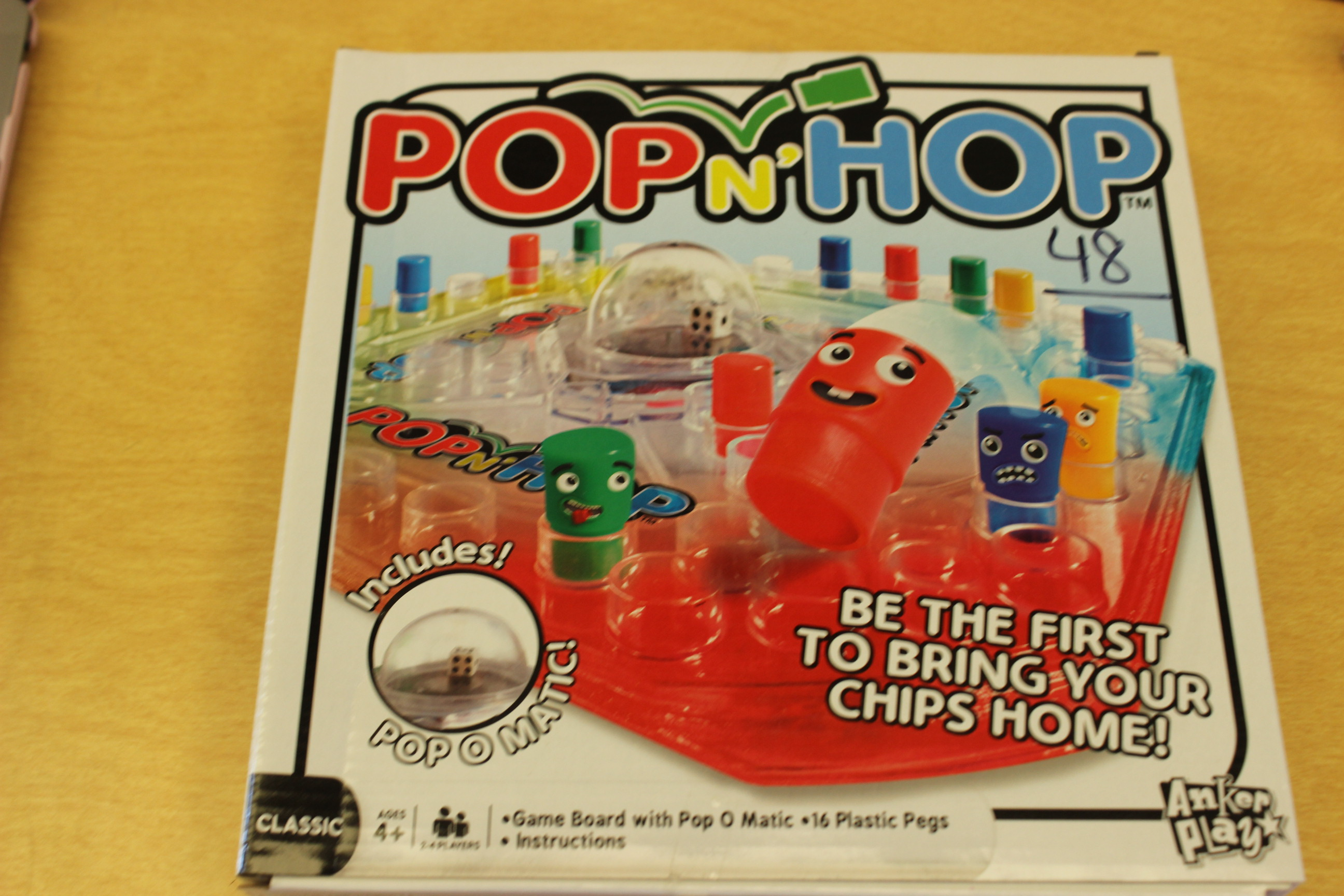 48 Paws Pop n' Hop Board Game