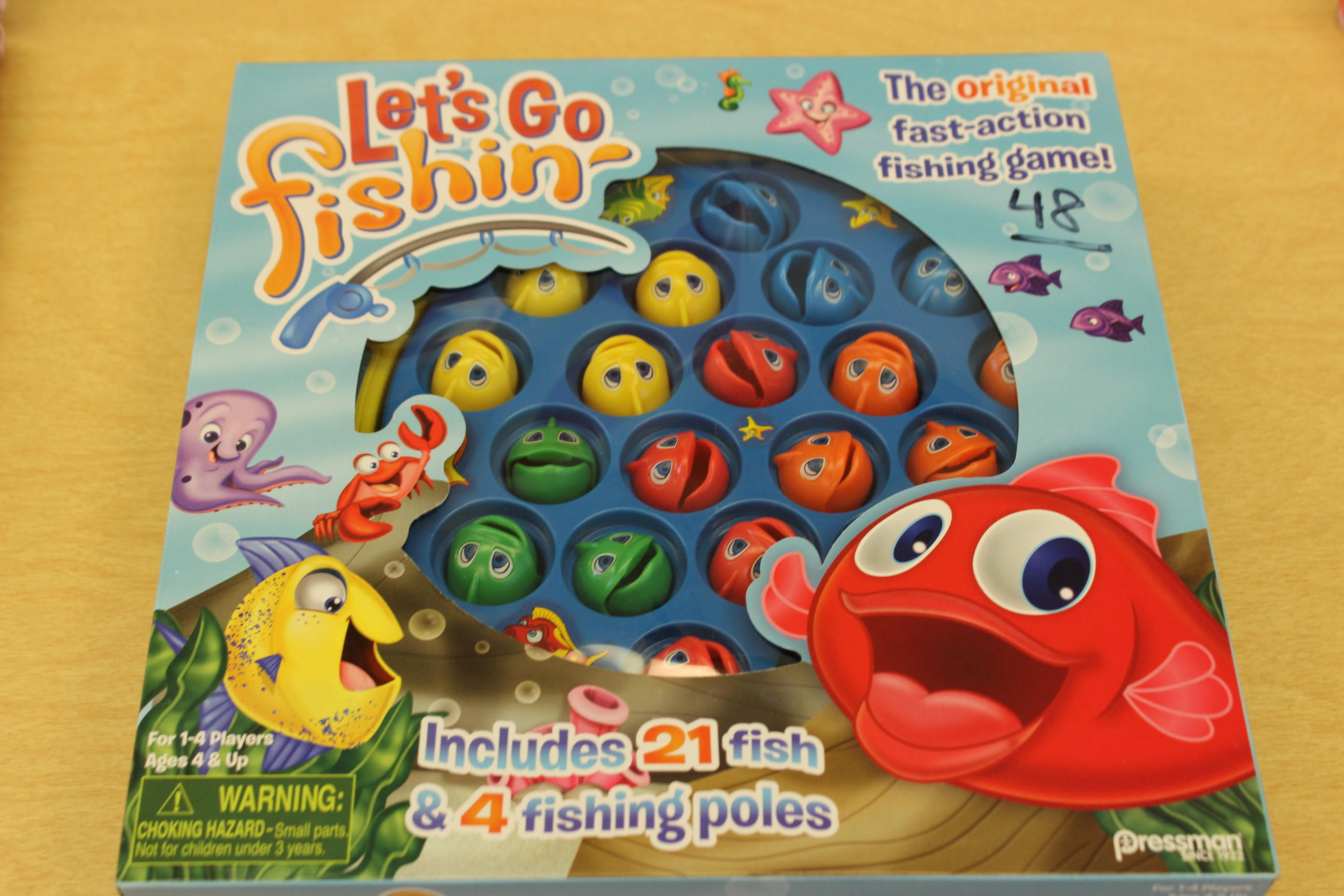 48 Paws Fishing Board Game
