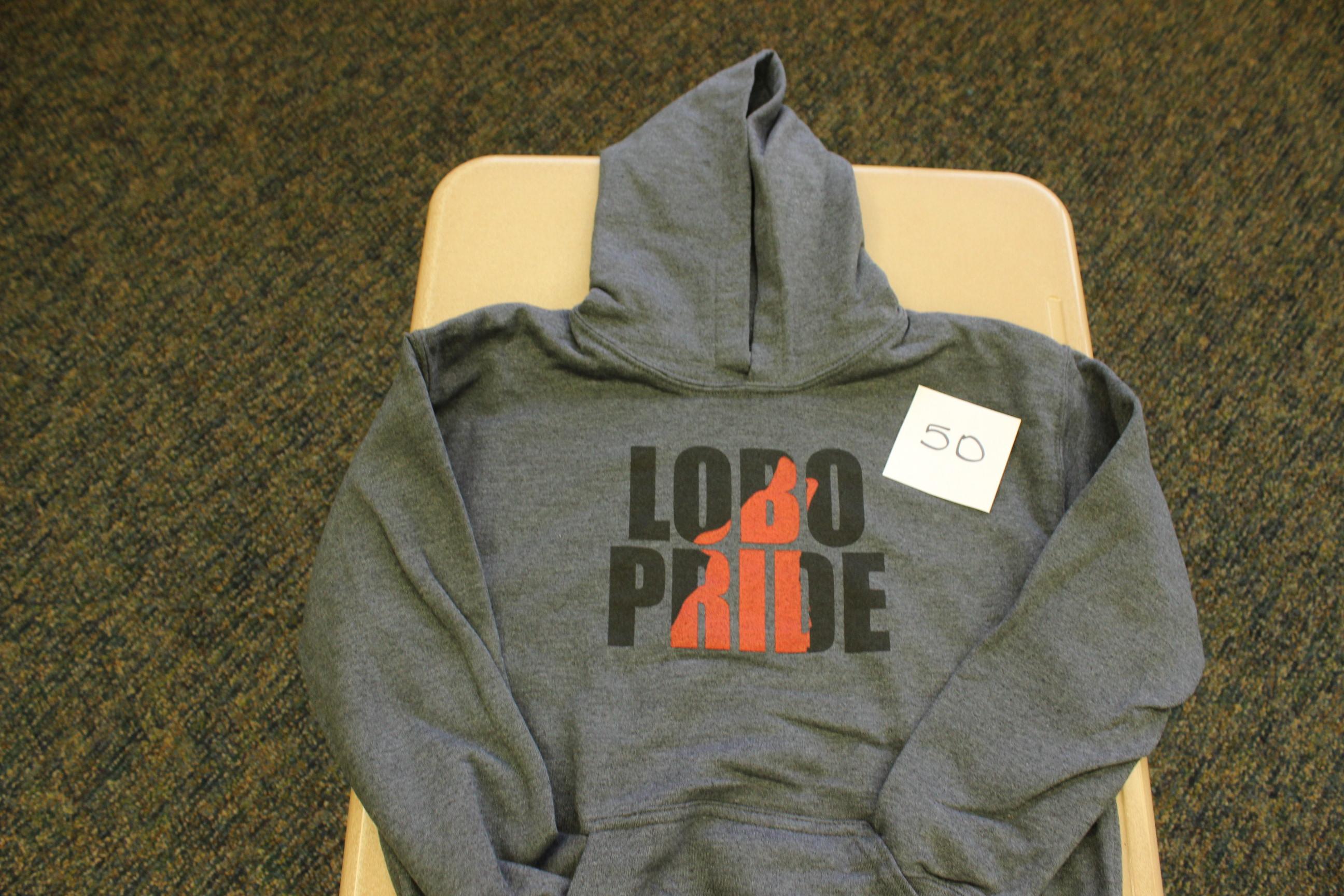 50 Paws Lobos Pride Hoodie