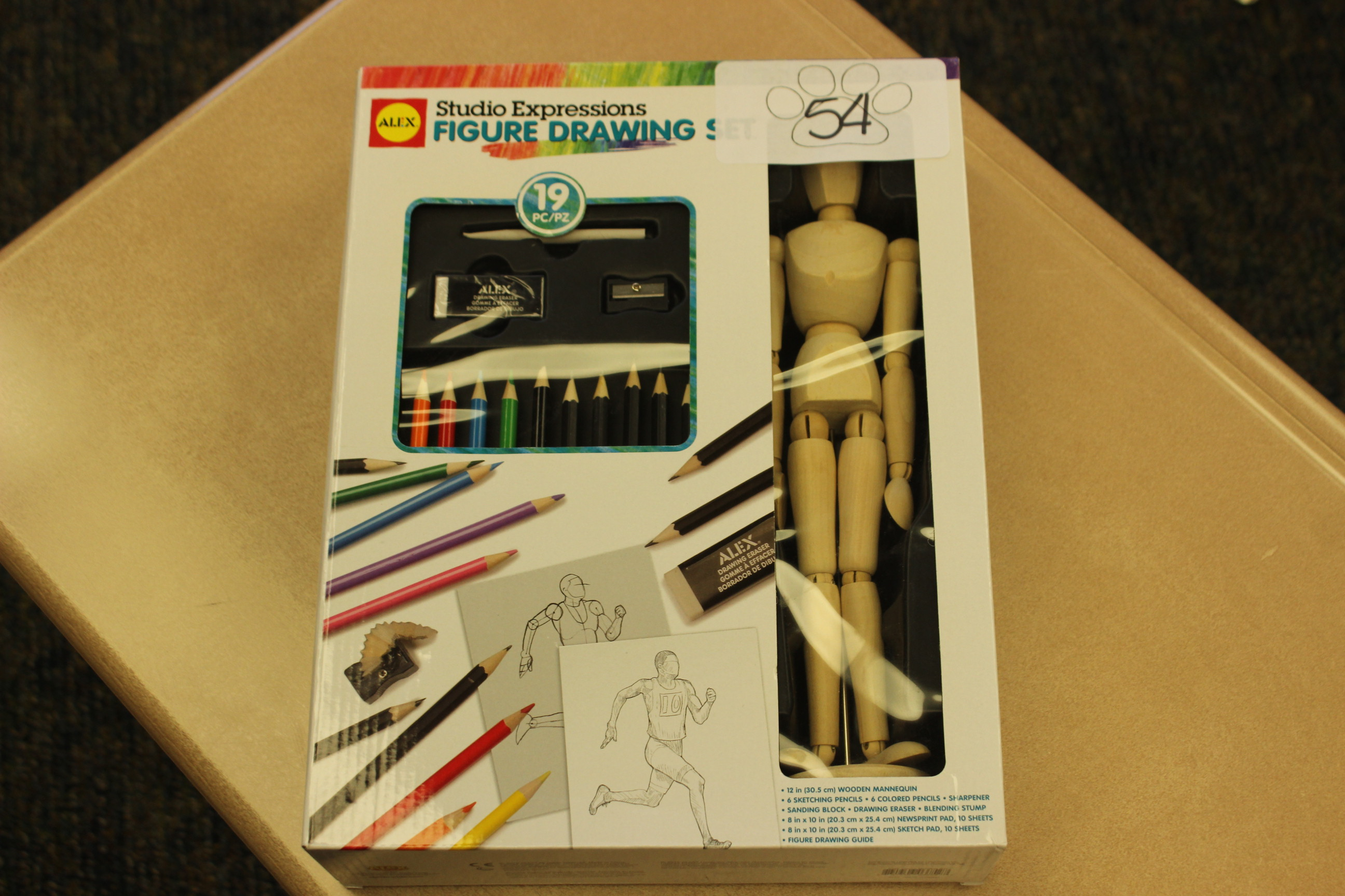 54 Figure Drawing Set