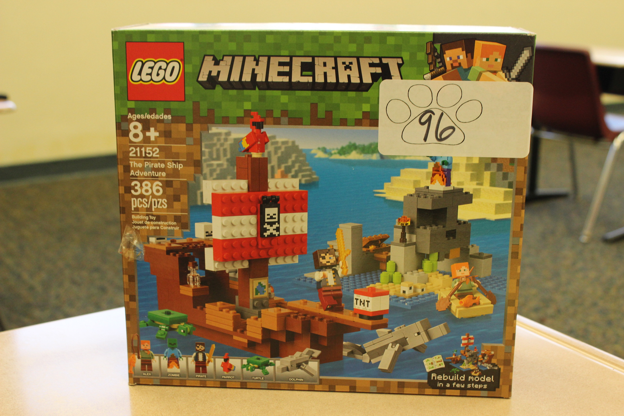 96 Paws Lego Minecraft Pirates