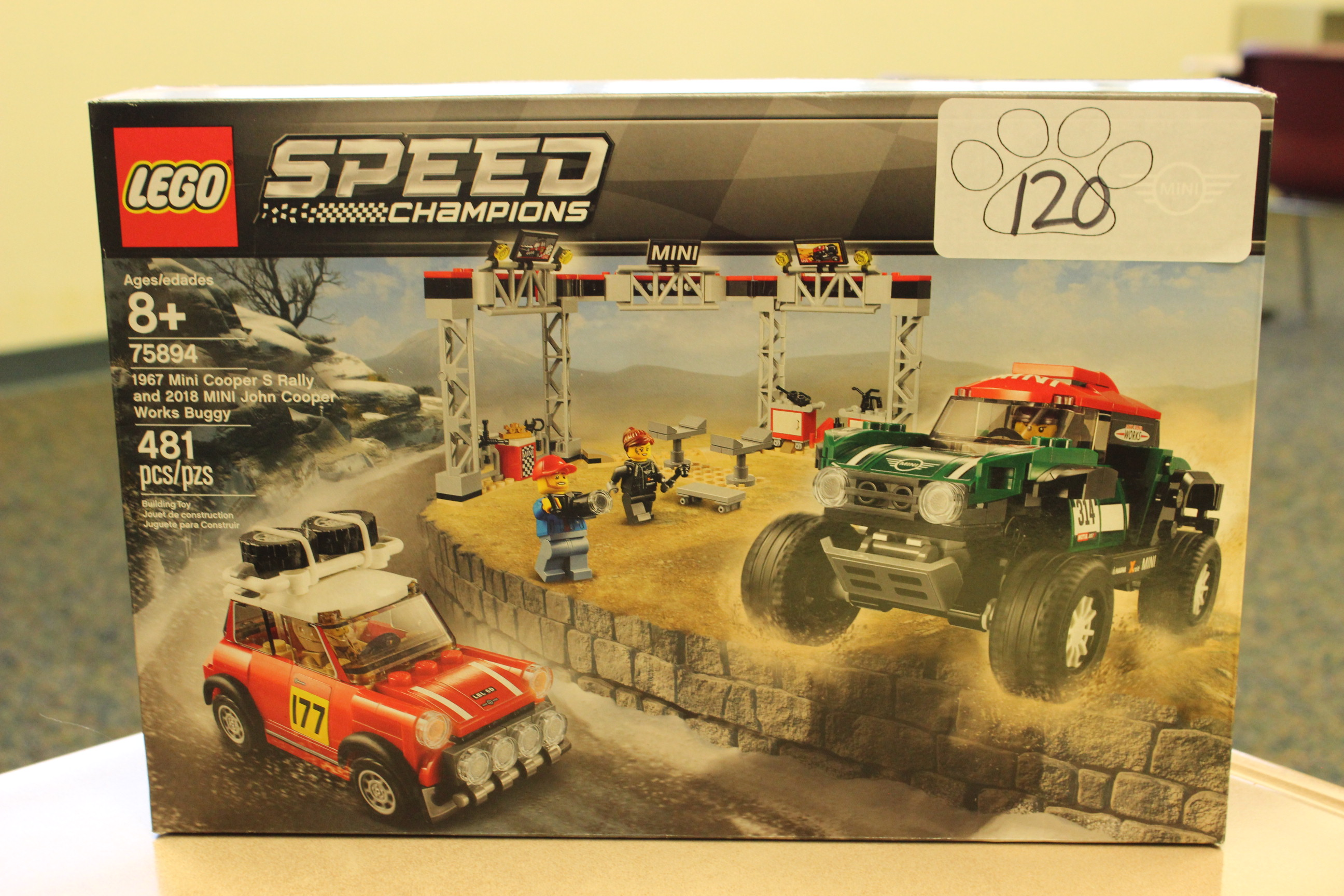 120 Paws Lego Speed Champions