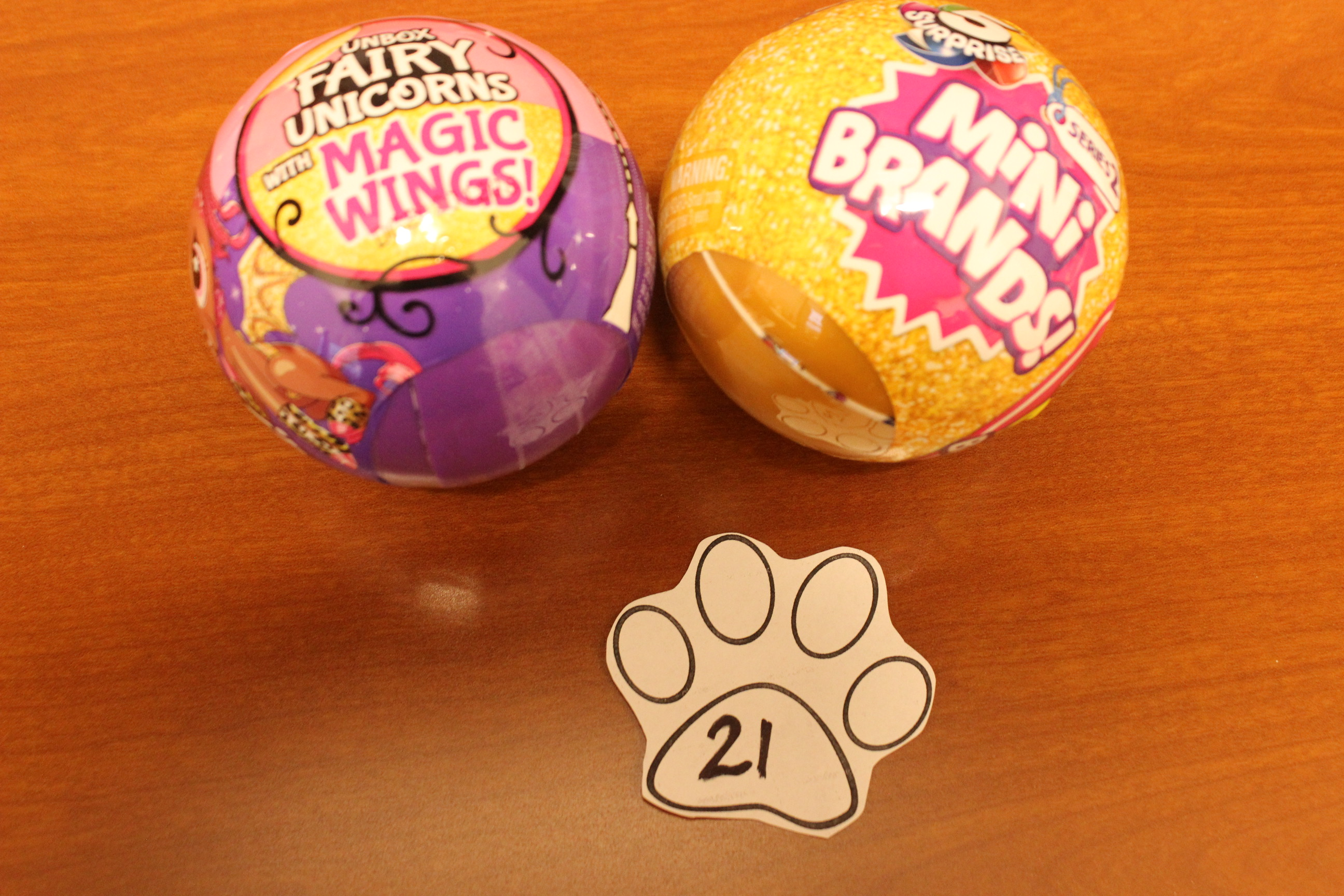 21 Paws Fairy Unicorns or Mini Brands