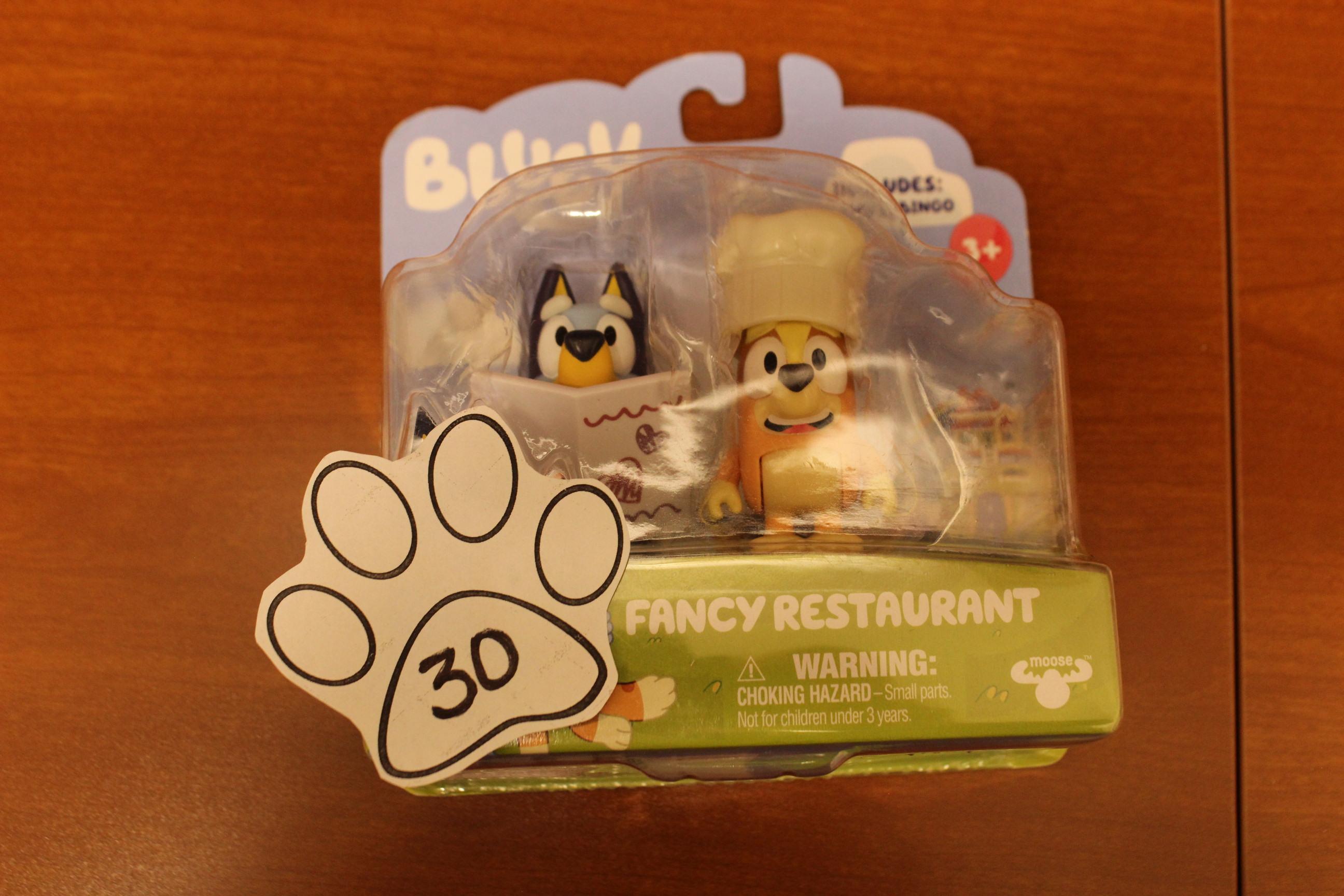 30 Paws Bluey