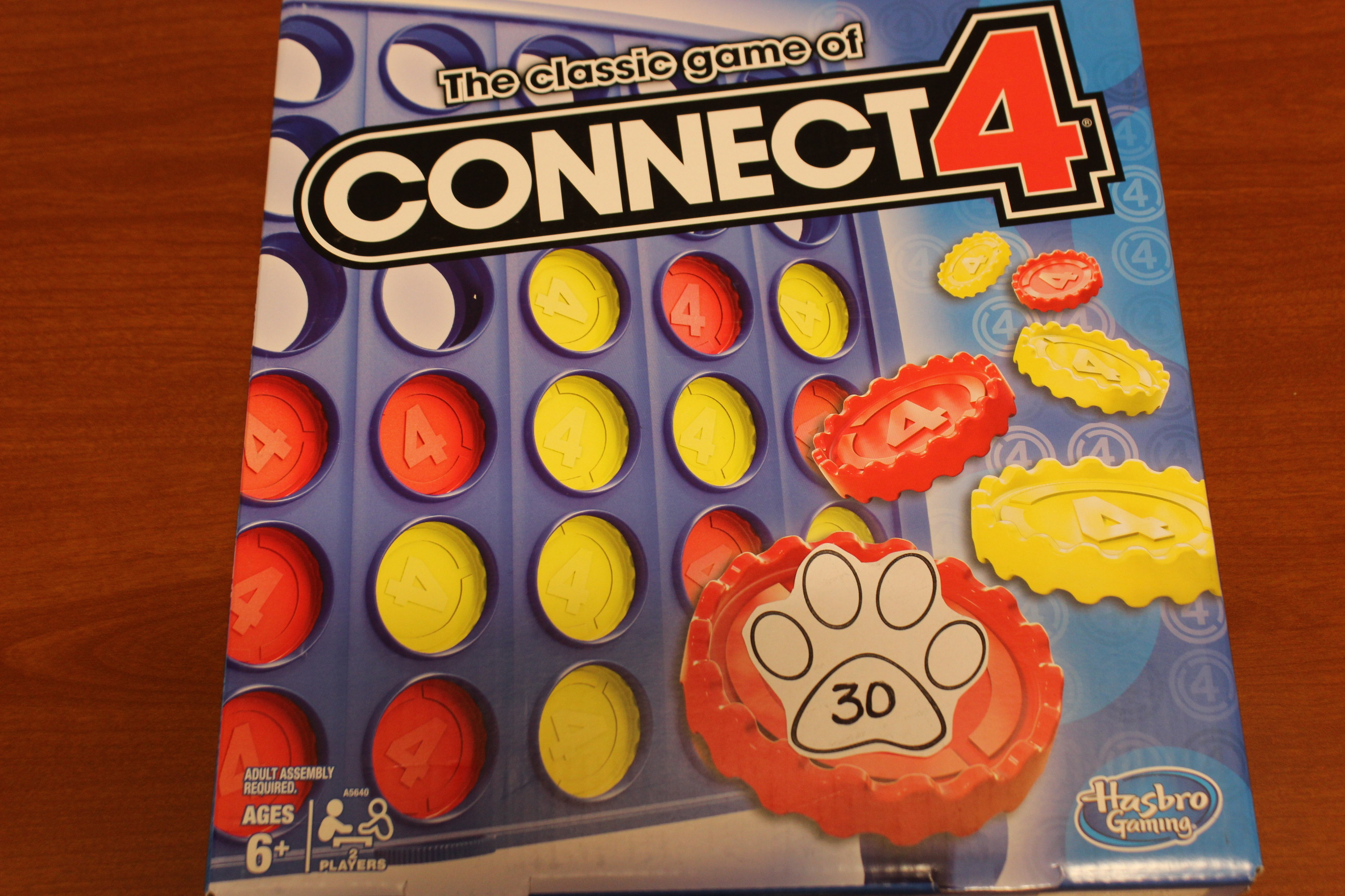 30 Paws Connect 4 Game
