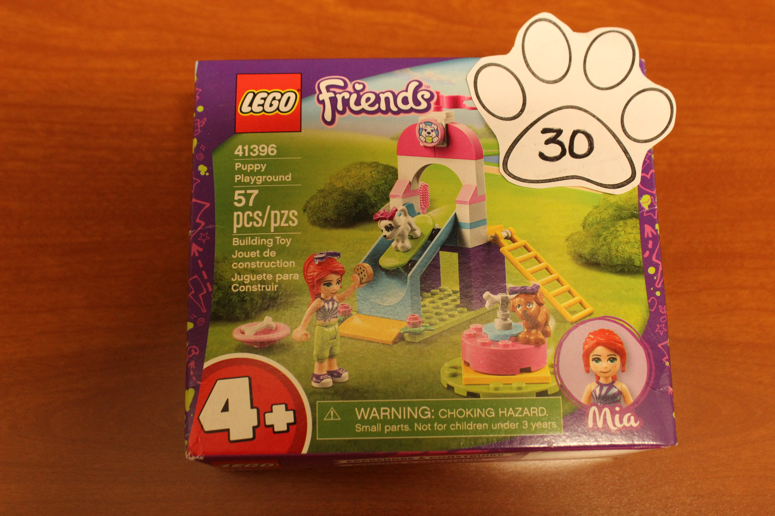 30 Paws Friends Puppy Playground Legos