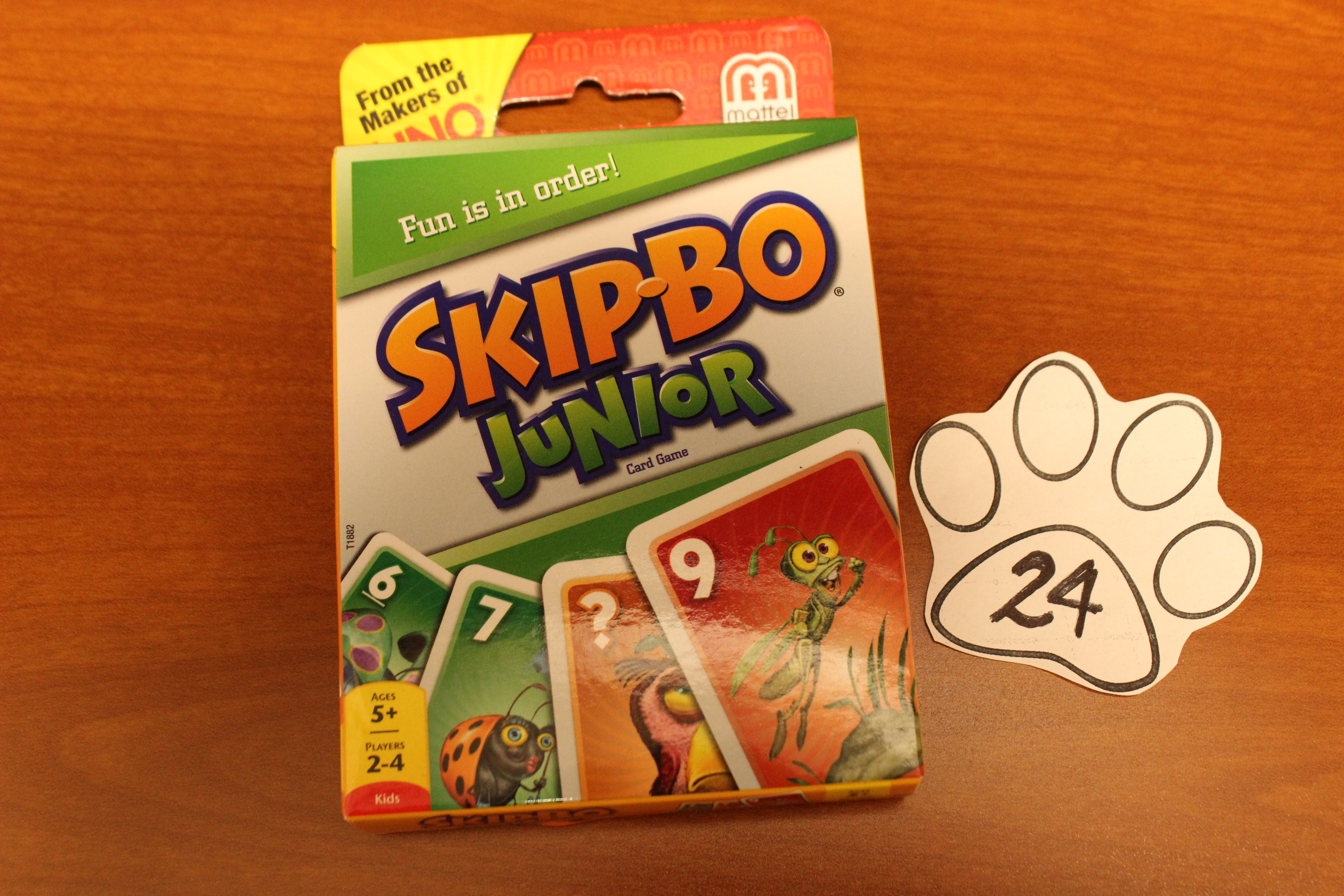 24 Paws Skip-Bo Junior