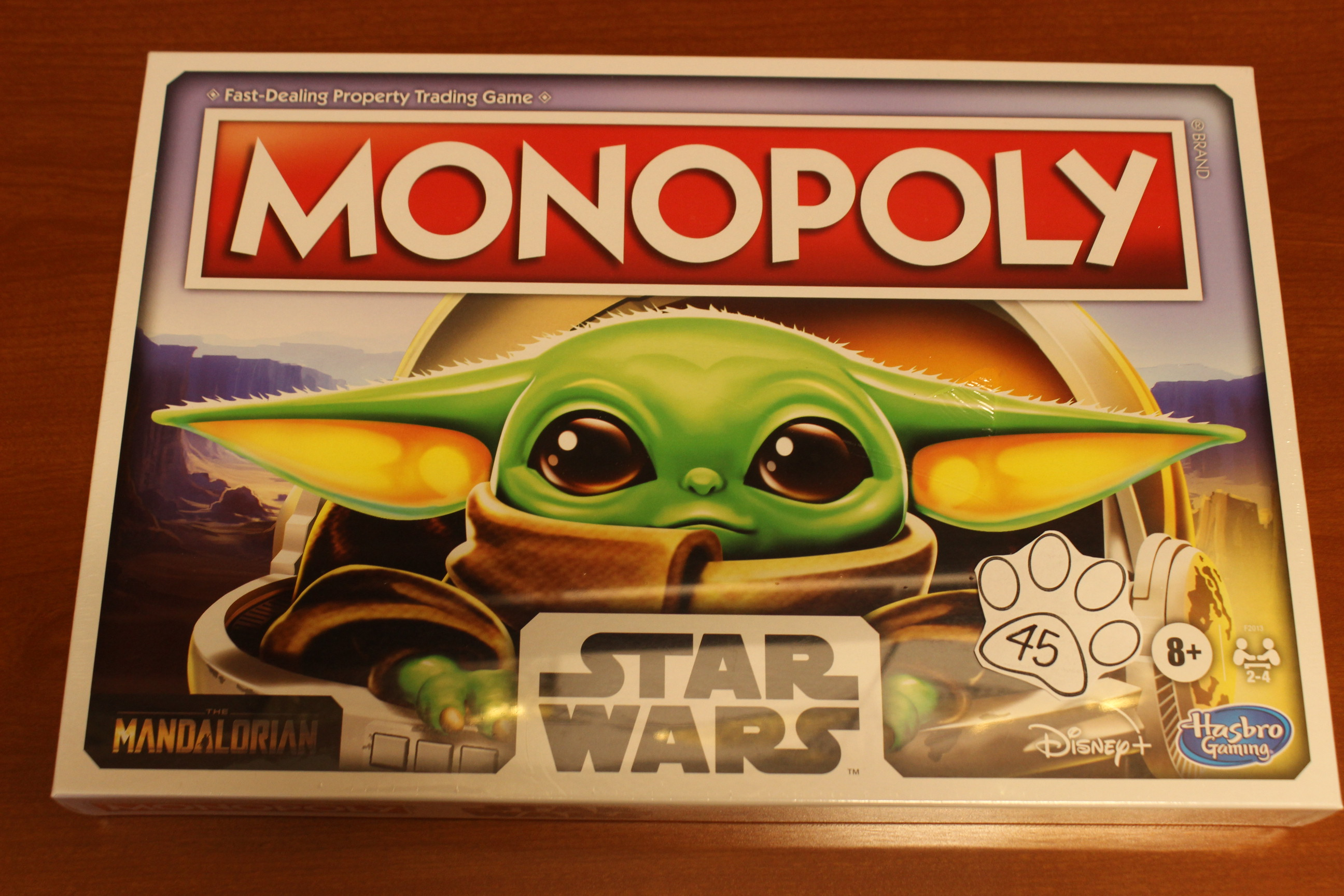 45 Paws Monopoly Star Wars