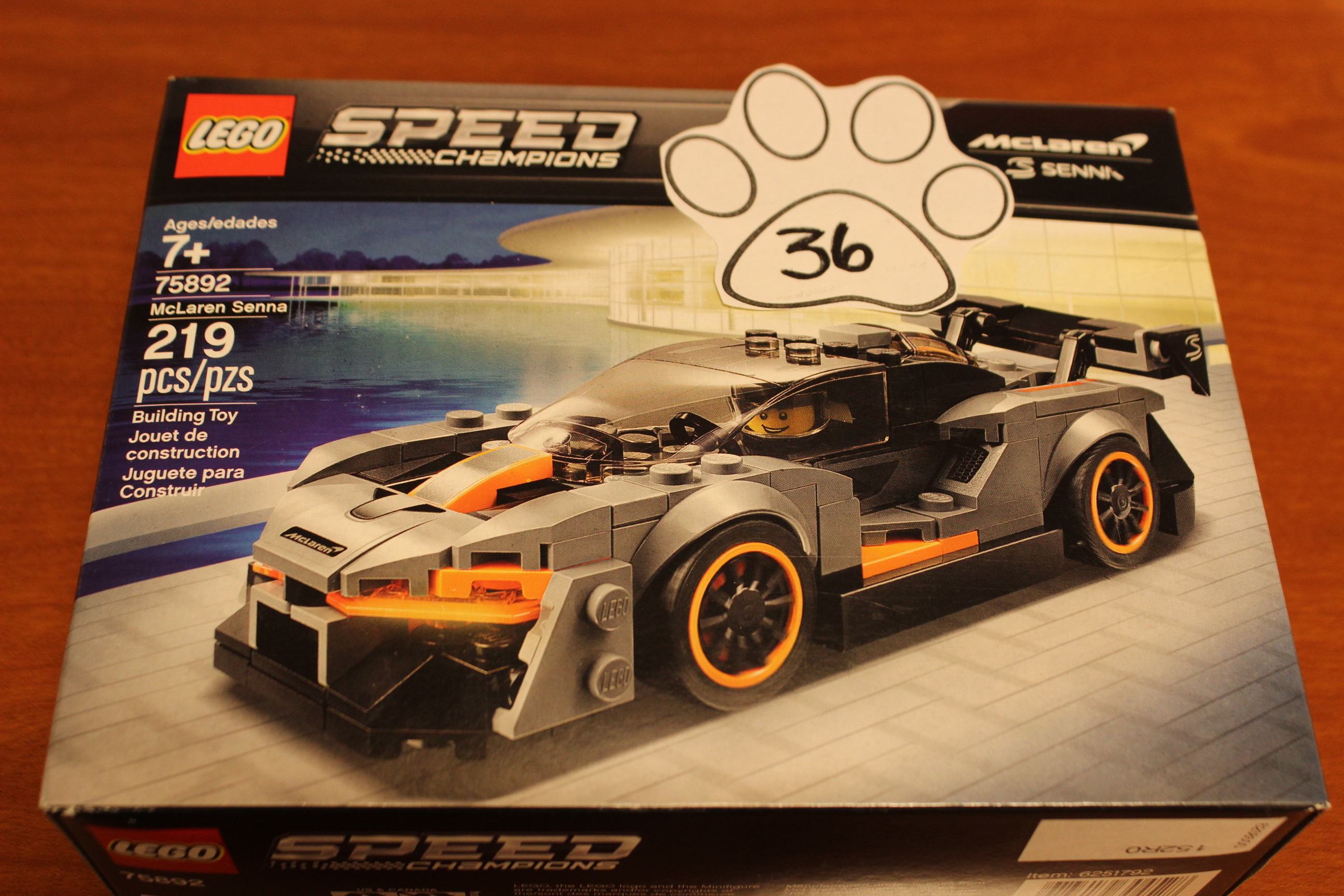 36 Paws Speed Champions Lego