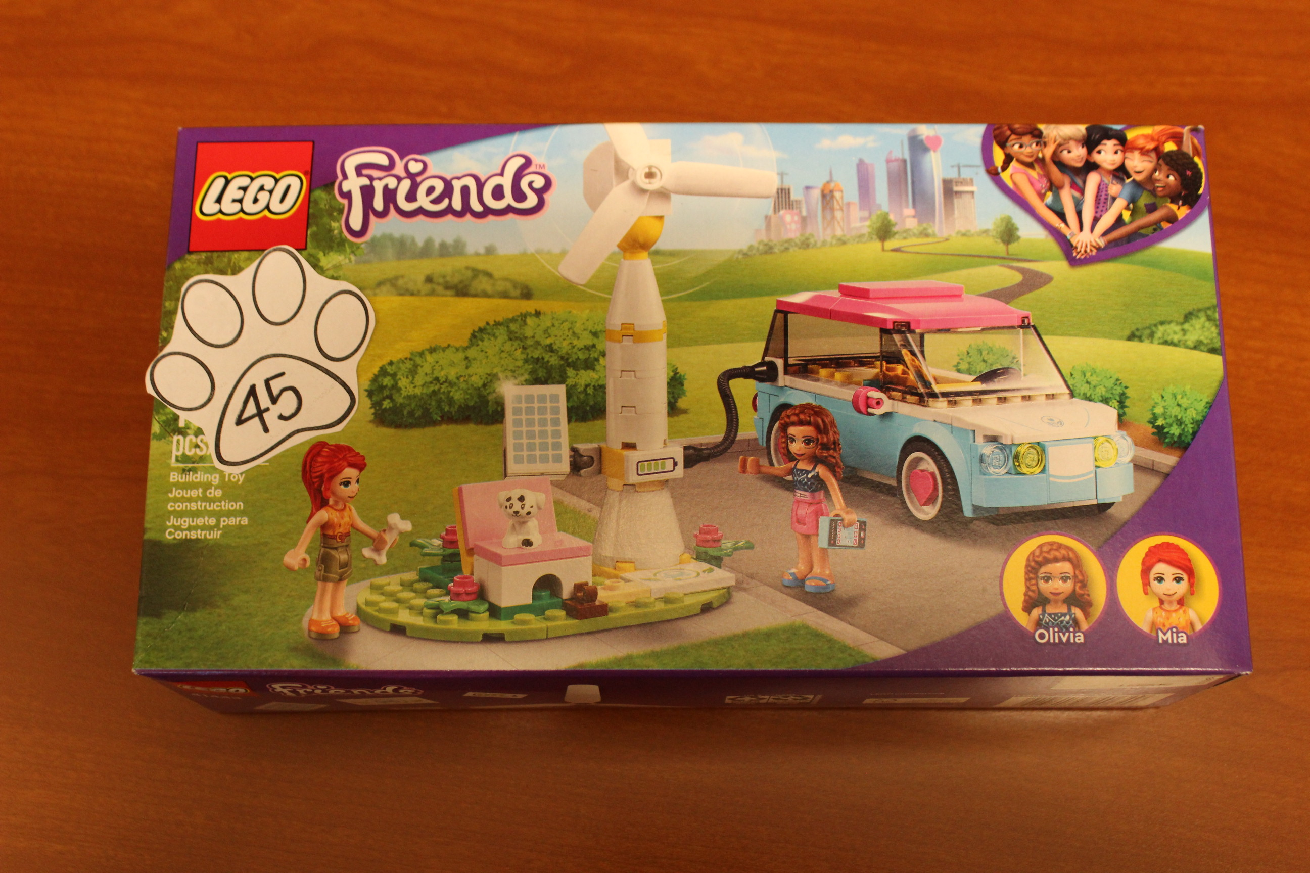 45 Paws Friends Car Lego