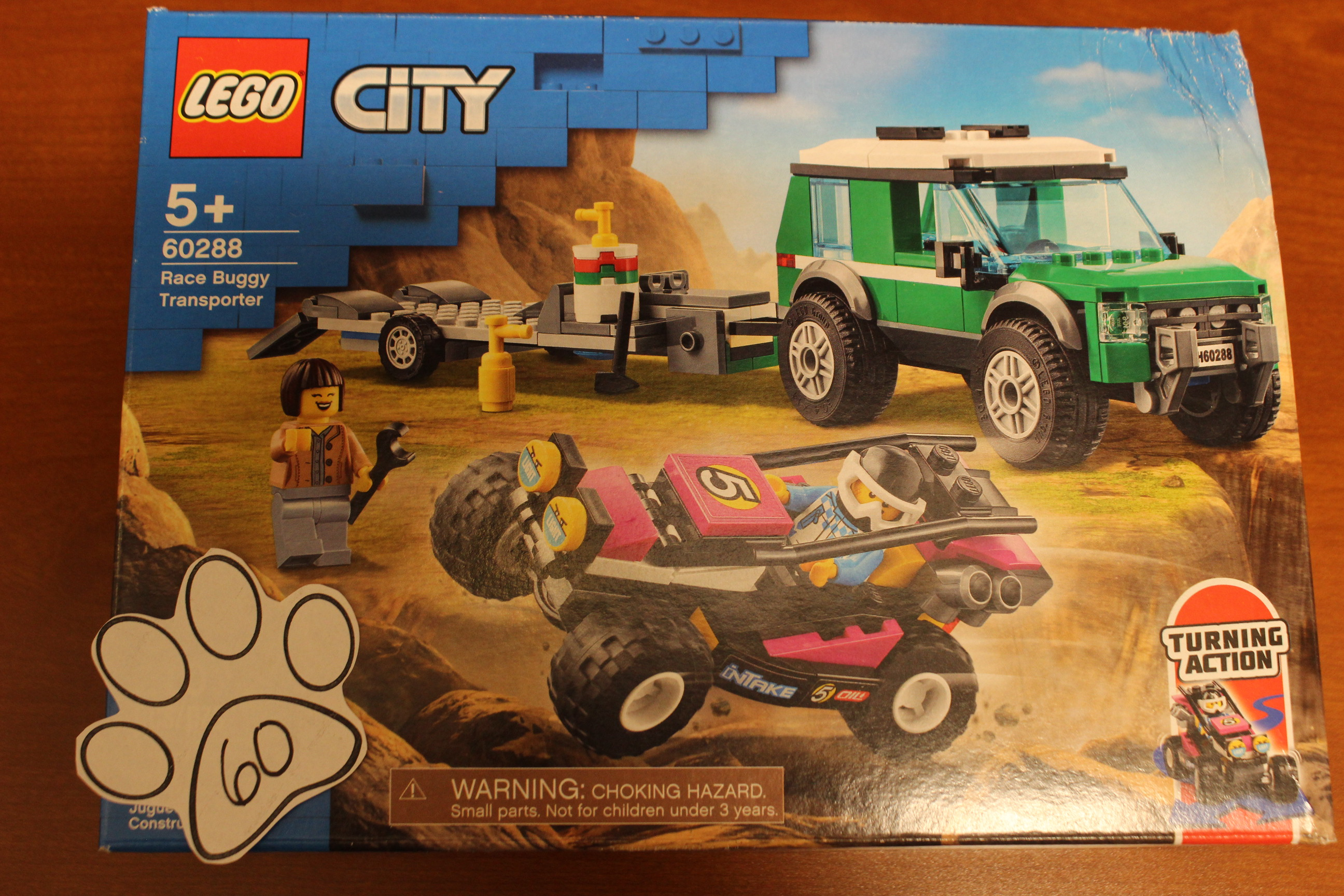 60 Paws Lego City Buggy Transporter