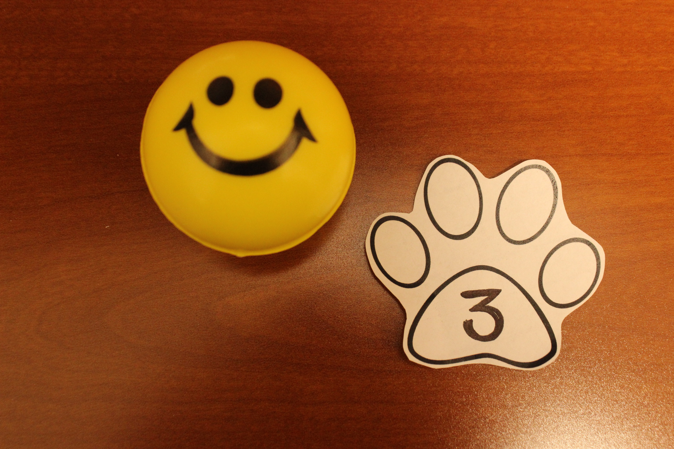 3 Paws Stress Ball