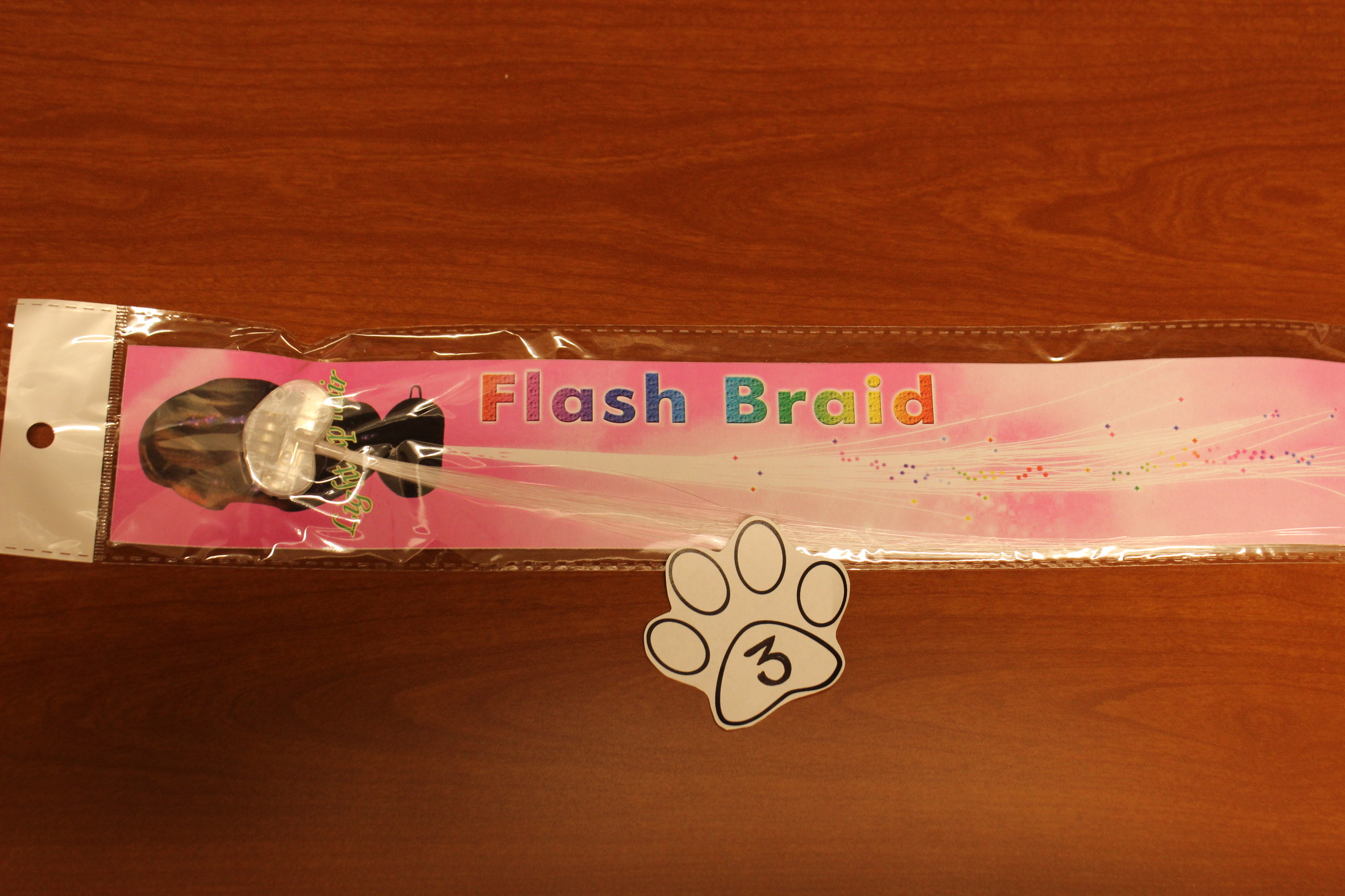 3 Paws Light Up Flash Braid