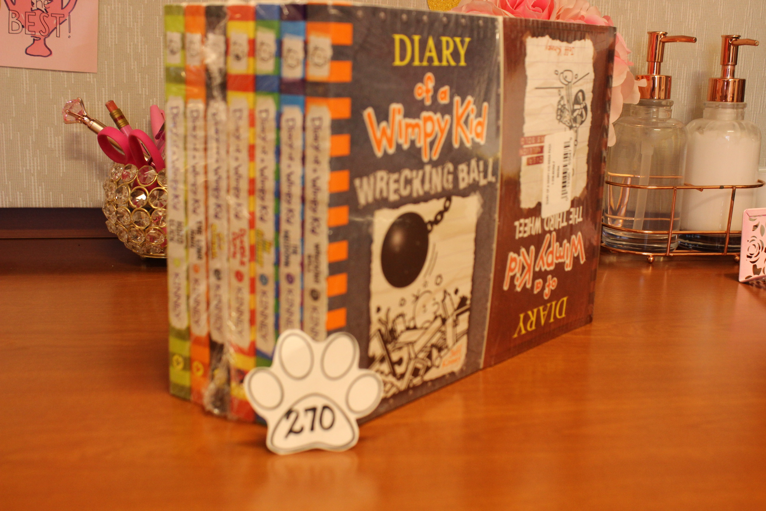 278 Paws Diary of Wimpy Kid Book Set