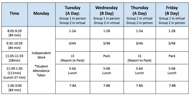 henderson schedule