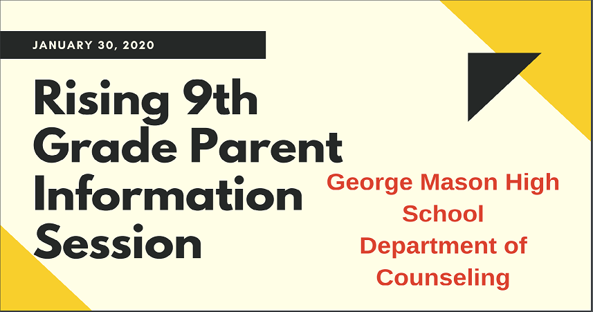 Rising 9th Grade Parent Information Session