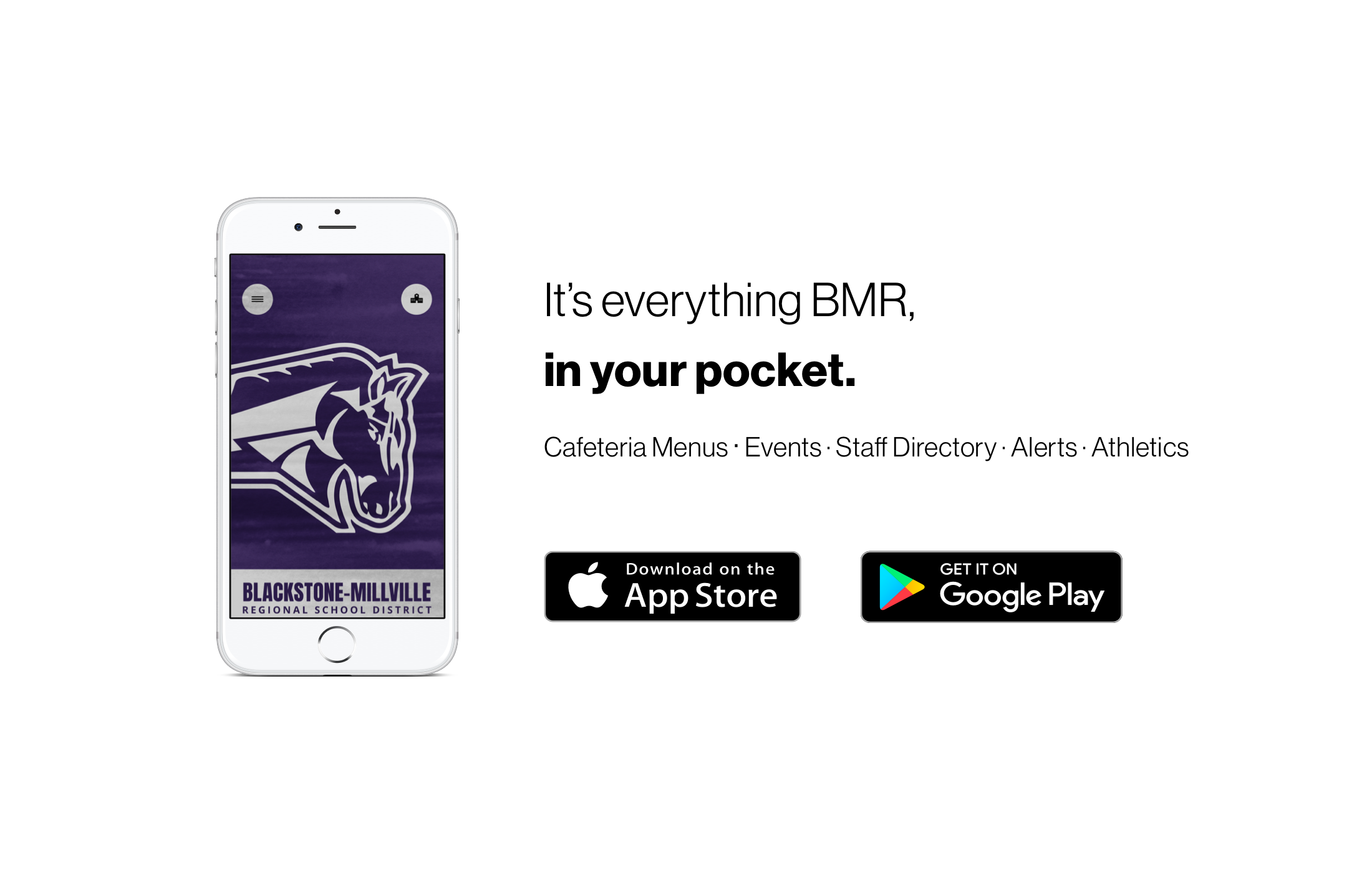 Download our schools new app to find out what's happening at Blackstone-Millville Regional School District