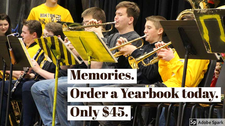 Memories. Order a Yearbook today. Only $45