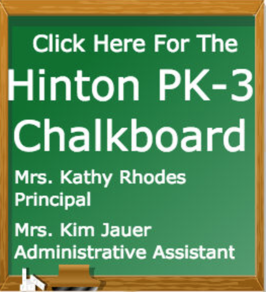 Hinton PK-3 Chalkboard