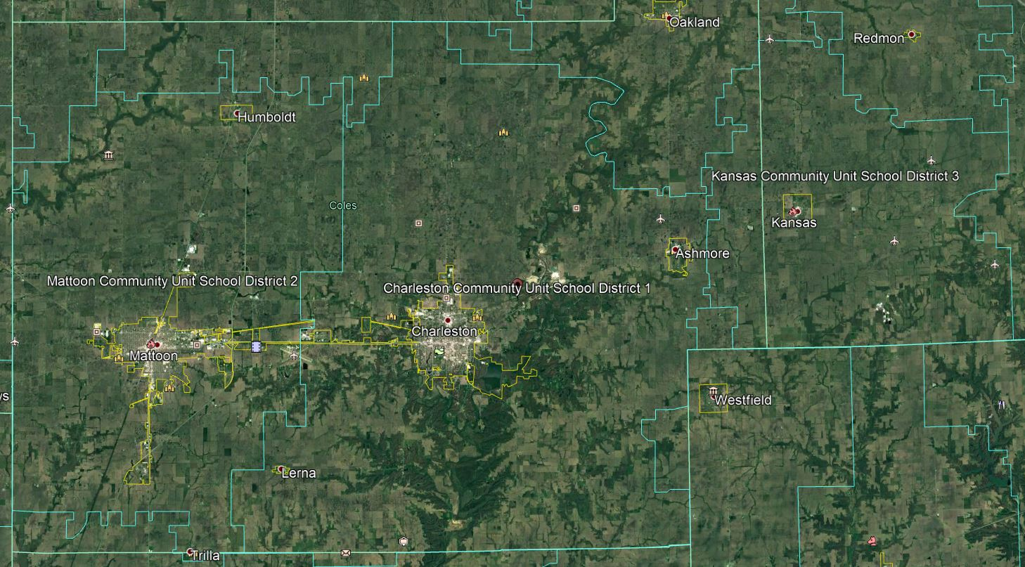 Google Earth District Map