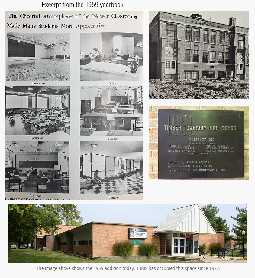 Excerpt from the 1959 yearbook