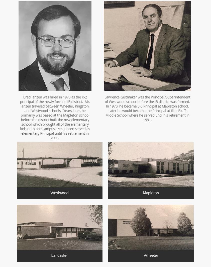 Bios of Brad Janzen and Lawrence Geltmaker
