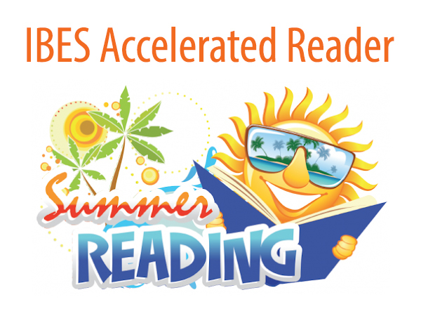 IBES Accelerated Reader Summer Reading logo
