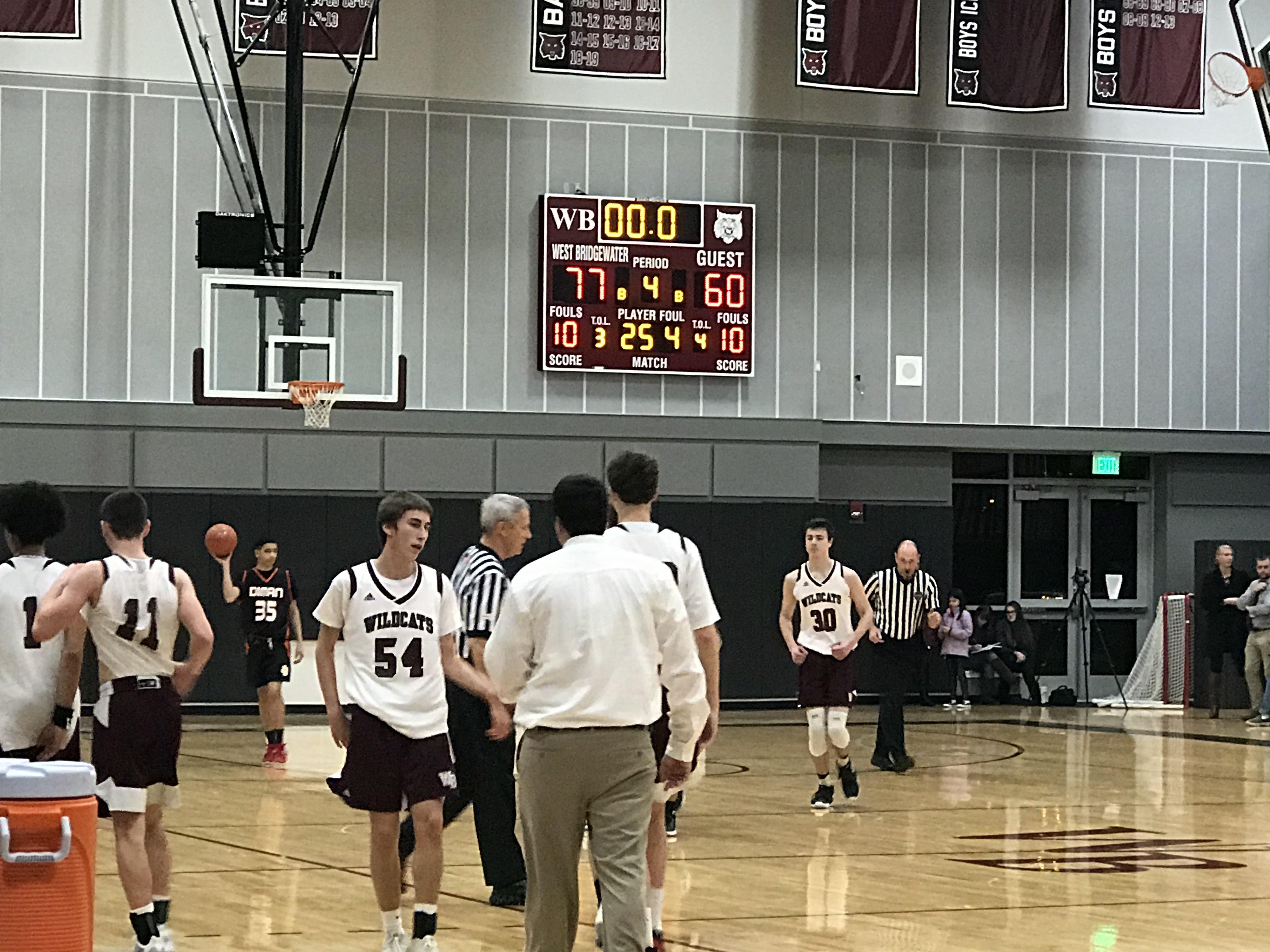 Boys Basketball vs Diman