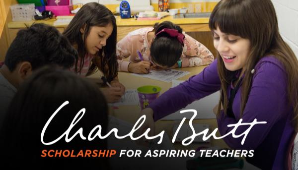 Charles Butt Scholarship for Aspiring Teachers