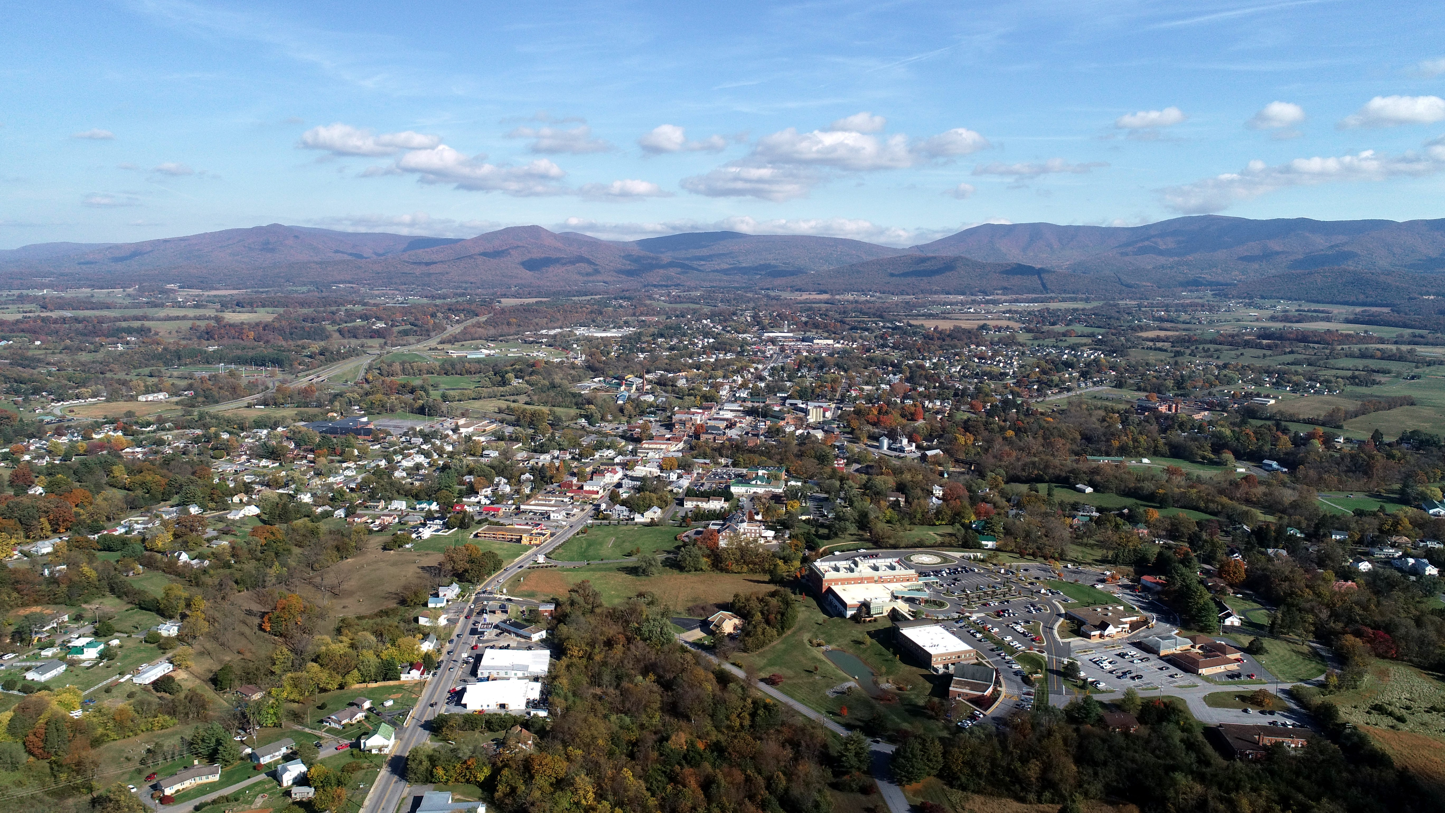 Town of Luray Aerial Photo
