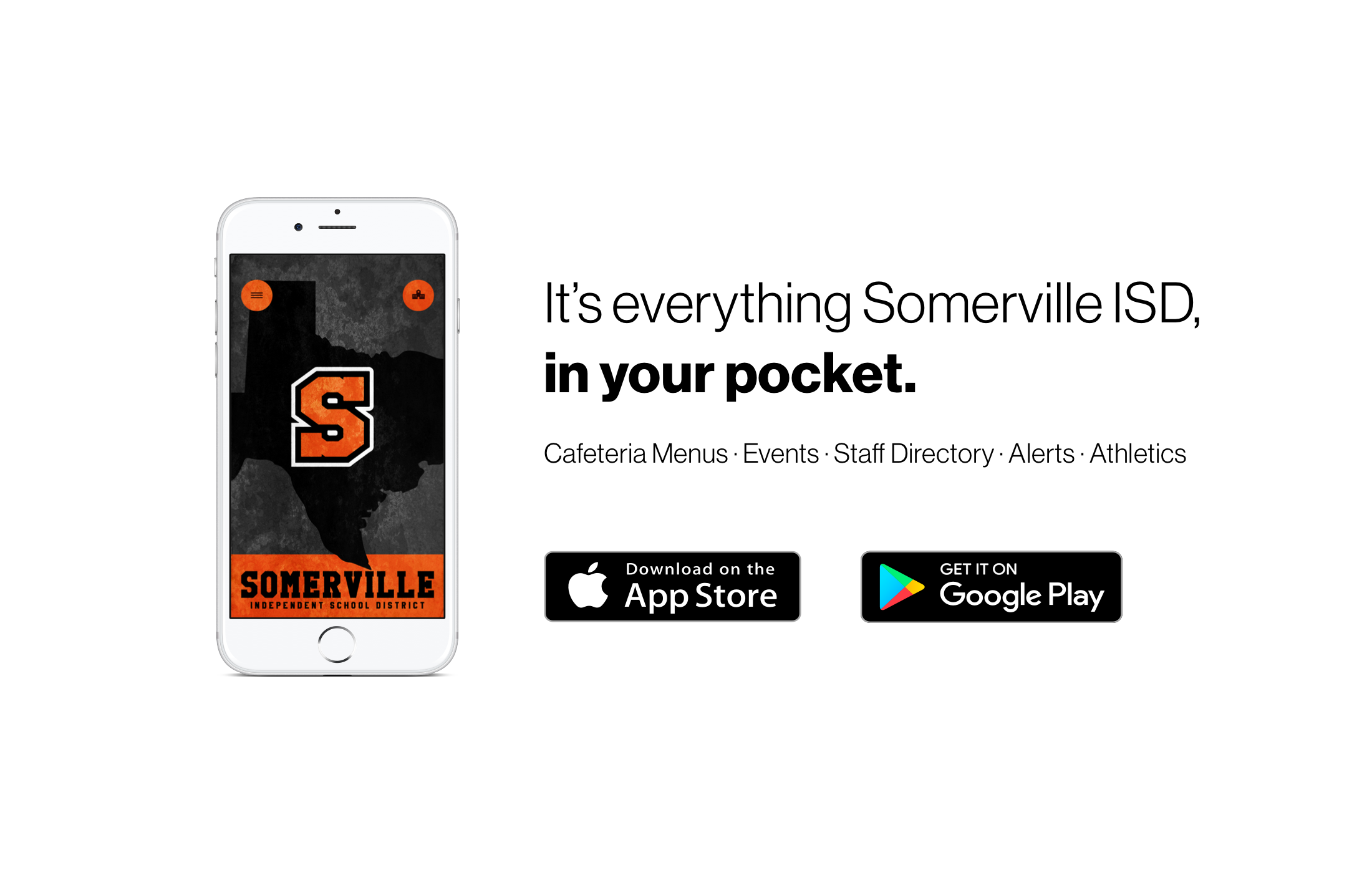 It's everything Somerville ISD, in your pocket.