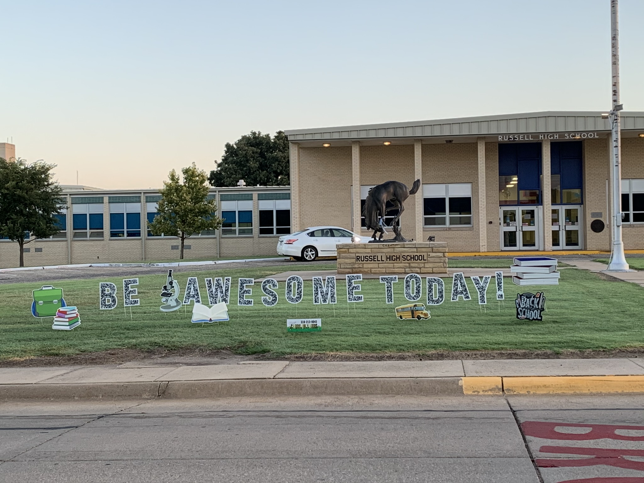 Be Awesome Today at RHS