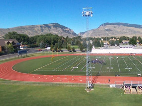 School Football field