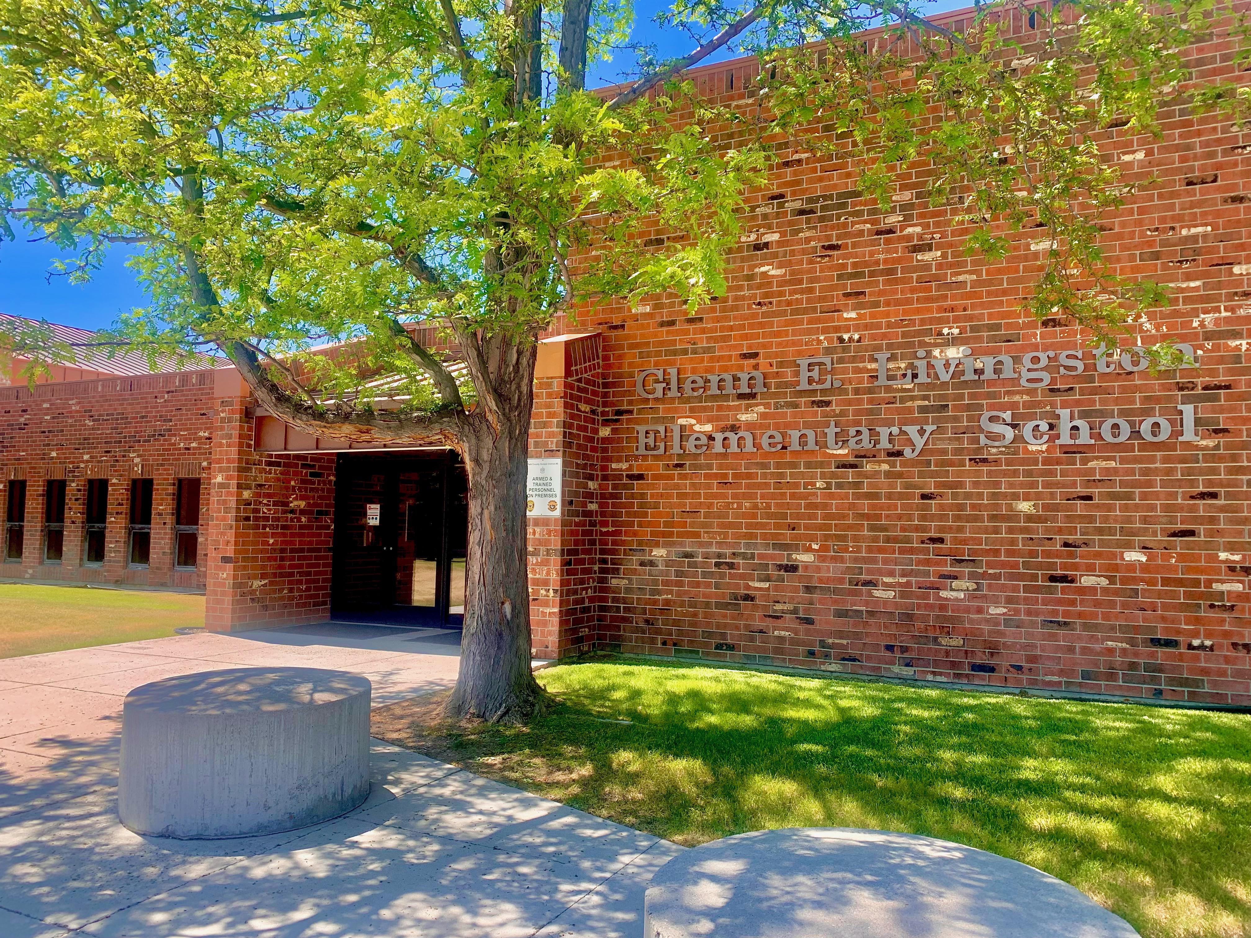 Livingston Elementary School Entrance