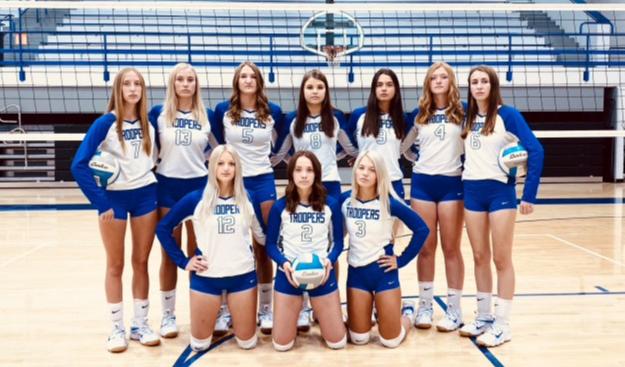 Garrison Volleyball Team