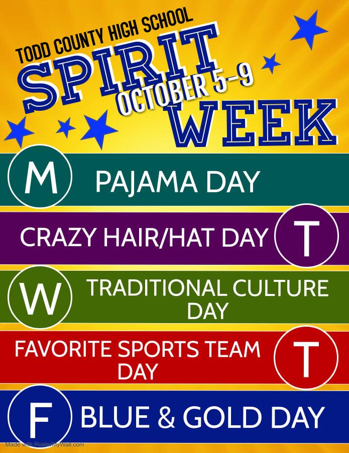 TCHS Spirit Week