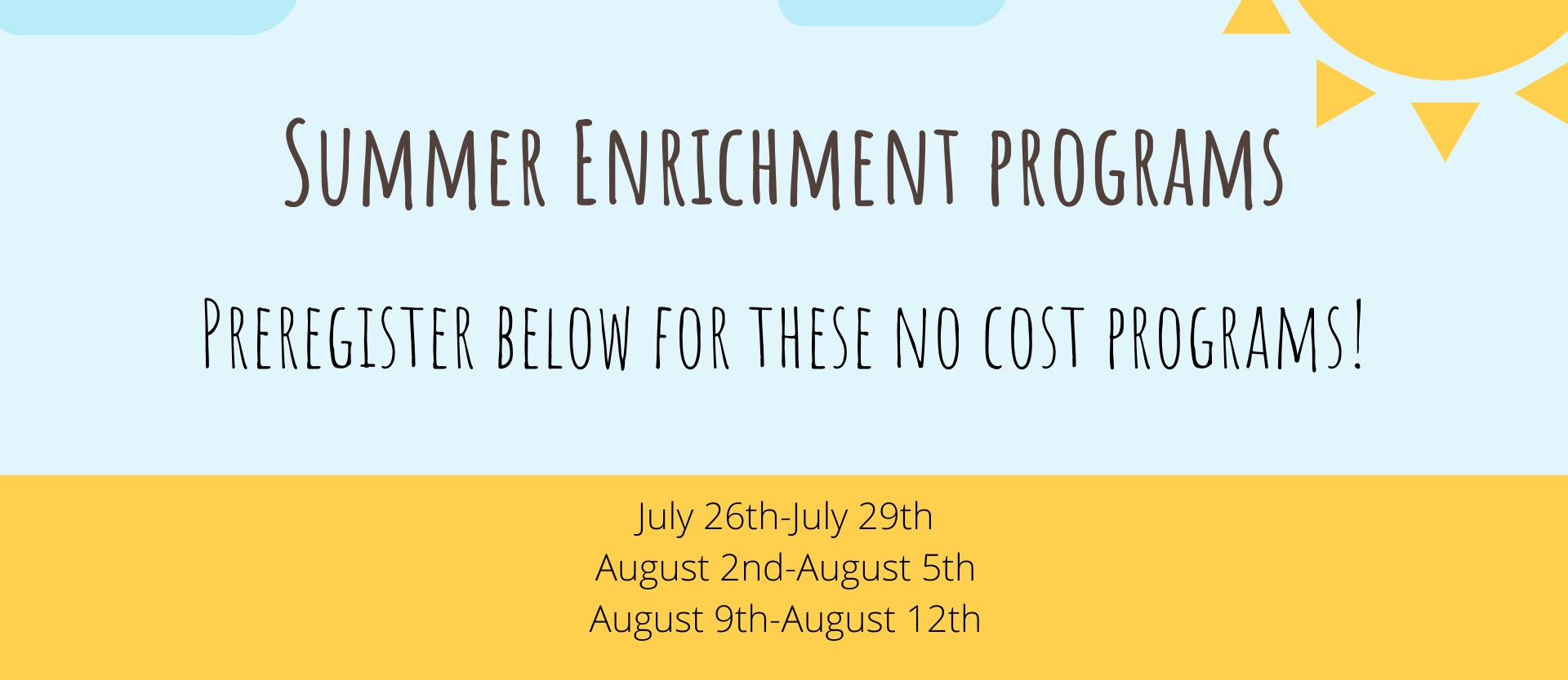 Summer Enrichment