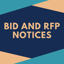 BID AND RFP NOTICES