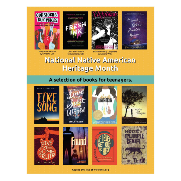 Books on Native Americans for Teenagers
