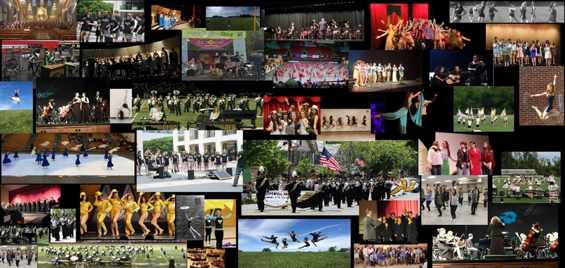 Photos of the PERFORMING ARTS ACADEMY activities.